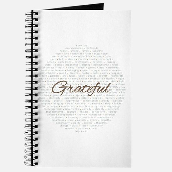 Unique Grateful Journal
