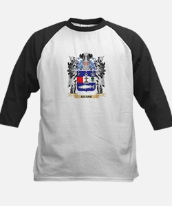 Keane Coat of Arms - Family Crest Baseball Jersey
