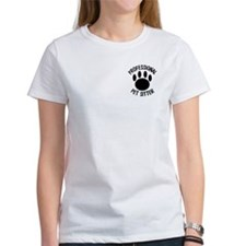 Professional Pet Sitter Paw Print Tee
