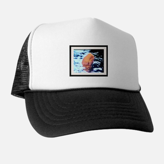 Cute Beach rose Trucker Hat