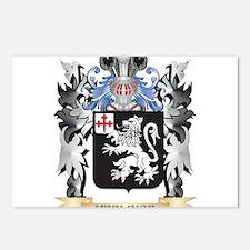 Keelinge Coat of Arms - F Postcards (Package of 8)