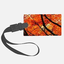 Autumn oak Luggage Tag