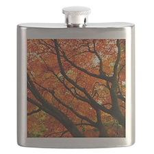 Autumn oak Flask