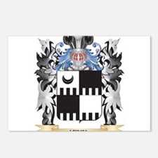 Keel Coat of Arms - Famil Postcards (Package of 8)