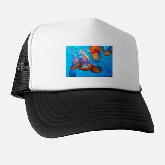 Unique Beach rose Trucker Hat