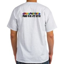 Paws/proud To Be A Pet Sitter T-Shirt