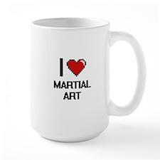 I Love Martial Art Mugs