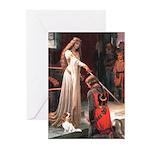 Princess & Cavalier Greeting Cards (Pk of 20)