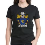 Verdugo Family Crest Women's Dark T-Shirt