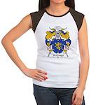 Verdugo Family Crest Women's Cap Sleeve T-Shirt