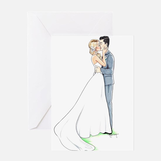 Happy Couple Greeting Cards