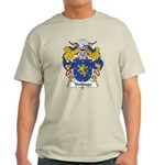 Verdugo Family Crest Light T-Shirt