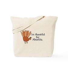 Thankful for Abuelita Tote Bag