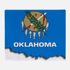OKLAHOMA STATE FLAG Throw Blanket
