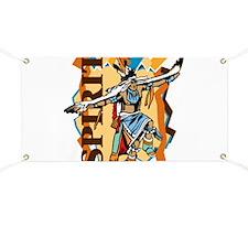 Native American Spirit Dance Banner