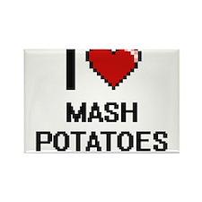 I Love Mash Potatoes Magnets