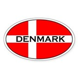 Denmark Stickers