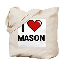 I Love Mason Tote Bag