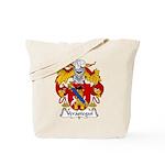 Verastegui Family Crest Tote Bag