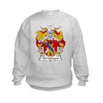 Verastegui Family Crest Kids Sweatshirt