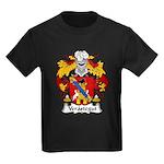 Verastegui Family Crest Kids Dark T-Shirt