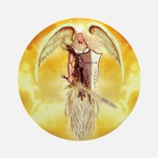 angel michael Ornament (Round)
