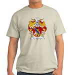 Verastegui Family Crest Light T-Shirt