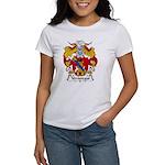 Verastegui Family Crest Women's T-Shirt
