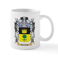 Keiser Coat of Arms - Family Crest Mugs