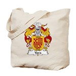 Vara Family Crest Tote Bag