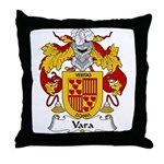 Vara Family Crest Throw Pillow