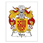 Vara Family Crest Small Poster