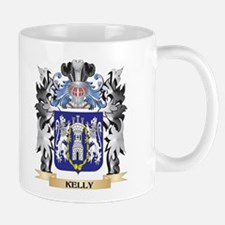 Kelly Coat of Arms - Family Crest Mugs