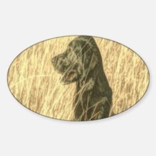 rustic country farm dog Decal
