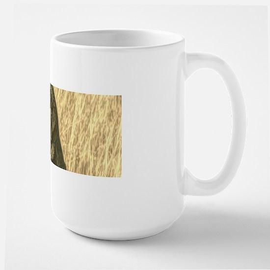 rustic country Labrador dog Mugs