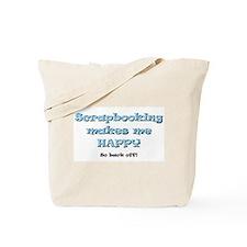 Back Off Tote Bag