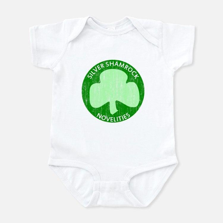 Silver Shamrock Infant Bodysuit