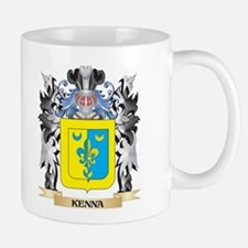 Kenna Coat of Arms - Family Crest Mugs
