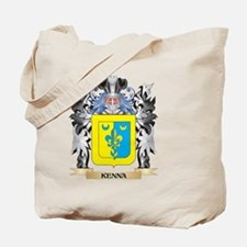 Kenna Coat of Arms - Family Crest Tote Bag