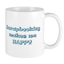 Happy Scrapbooking Mug
