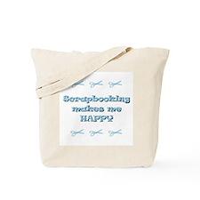 Happy Scrapbooking Tote Bag