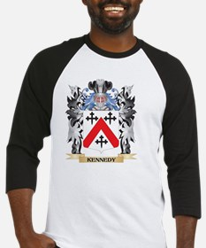 Kennedy- Coat of Arms - Family Cre Baseball Jersey