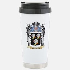 Kennedy Coat of Arms - Stainless Steel Travel Mug