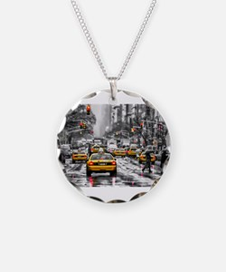 I LOVE NYC - New York Taxi Necklace