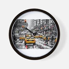 I LOVE NYC - New York Taxi Wall Clock