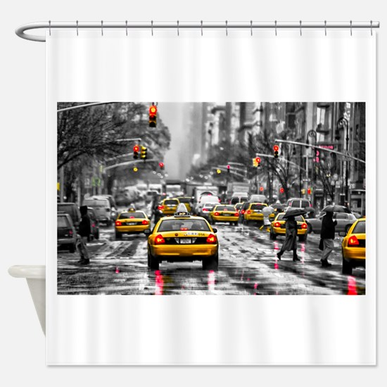 I LOVE NYC - New York Taxi Shower Curtain