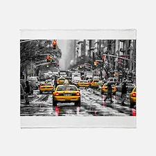 I LOVE NYC - New York Taxi Throw Blanket