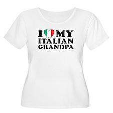 I Love My italian Grandpa T-Shirt