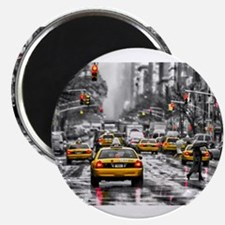 I LOVE NYC - New York Taxi Magnets