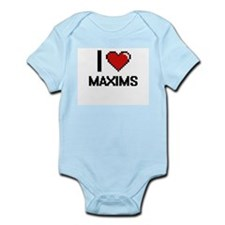 I Love Maxims Body Suit